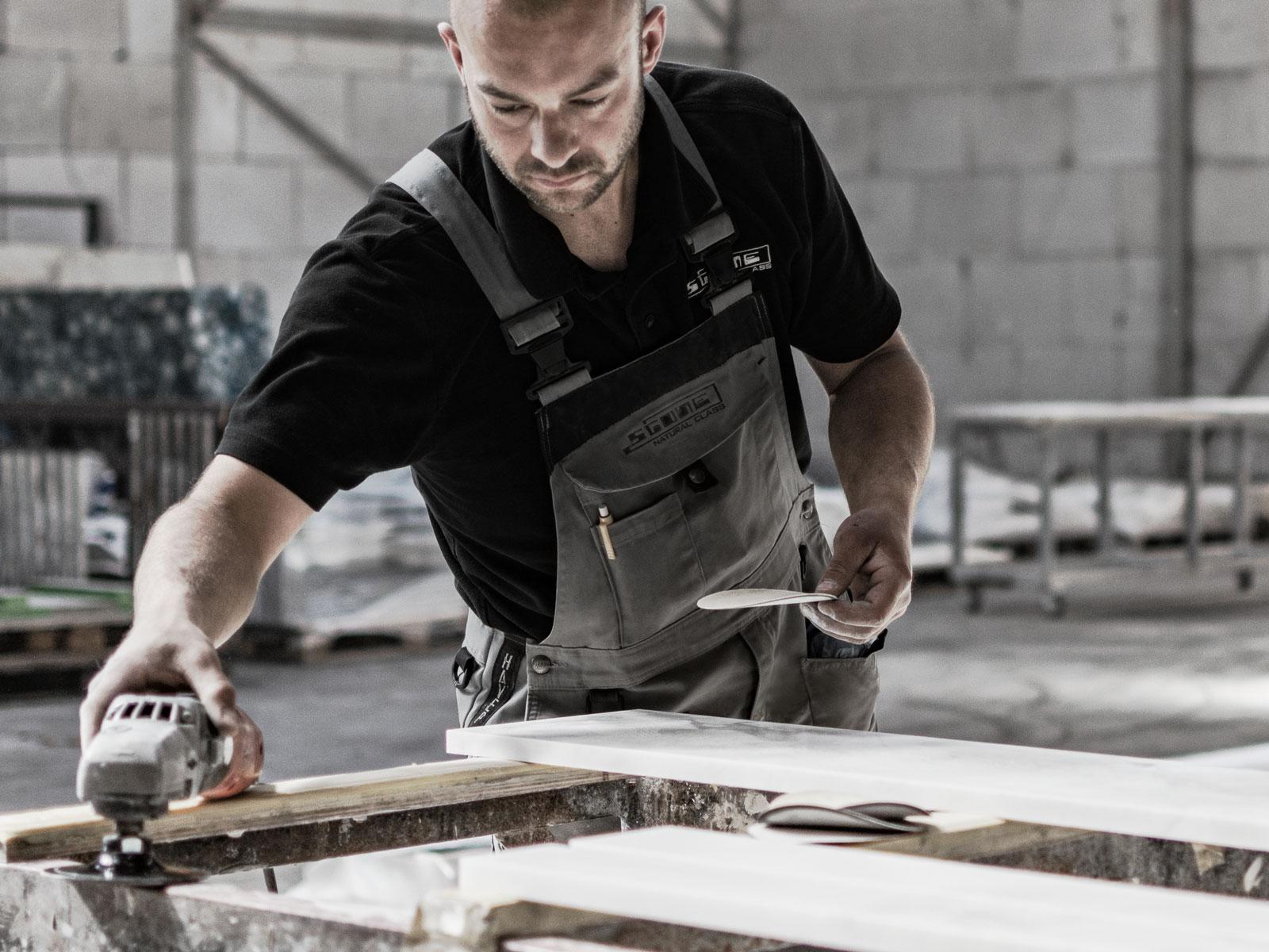 stone craftsman Jos Bierings