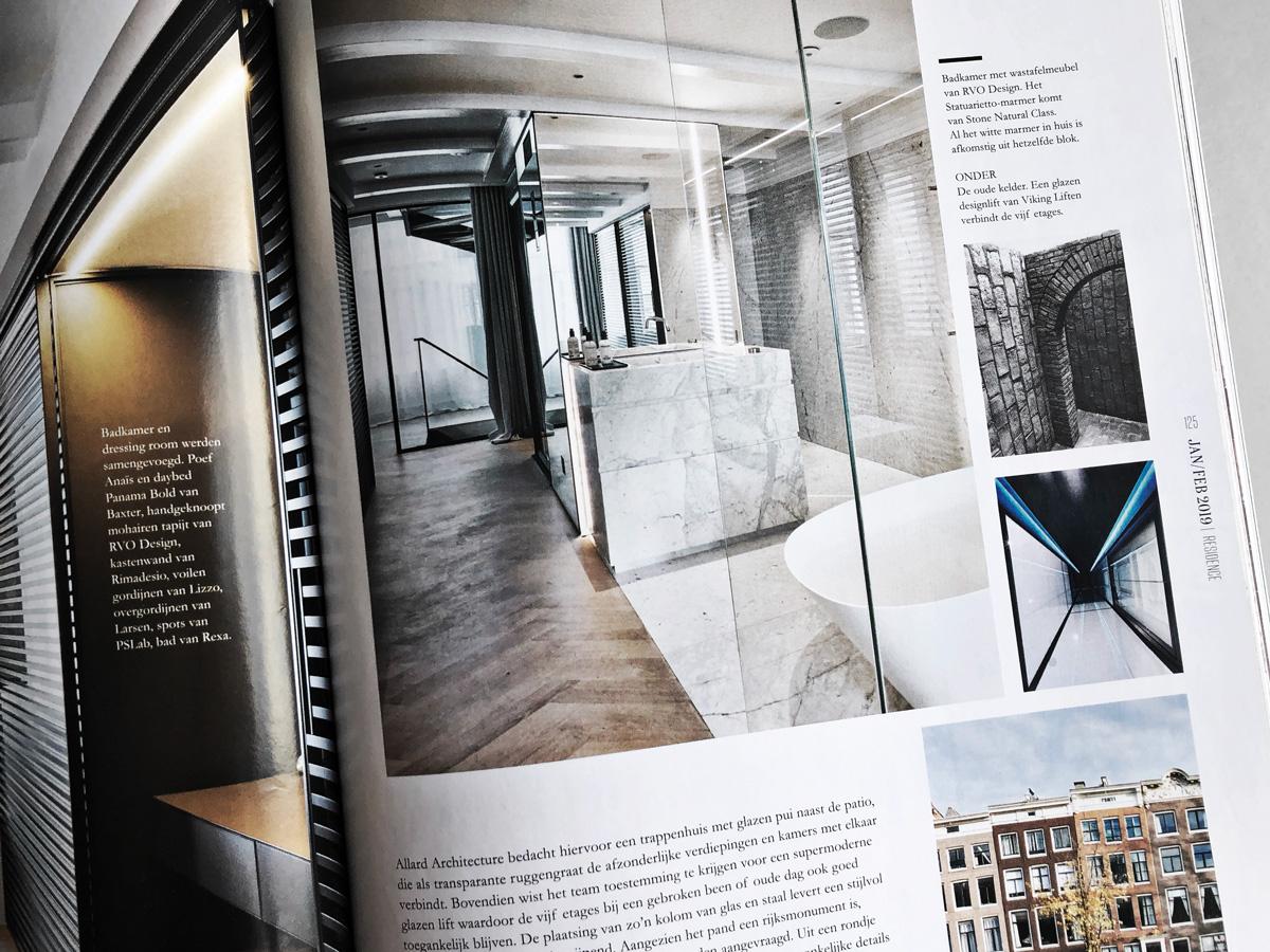 Spread Magazine Residence Wouter Deelman