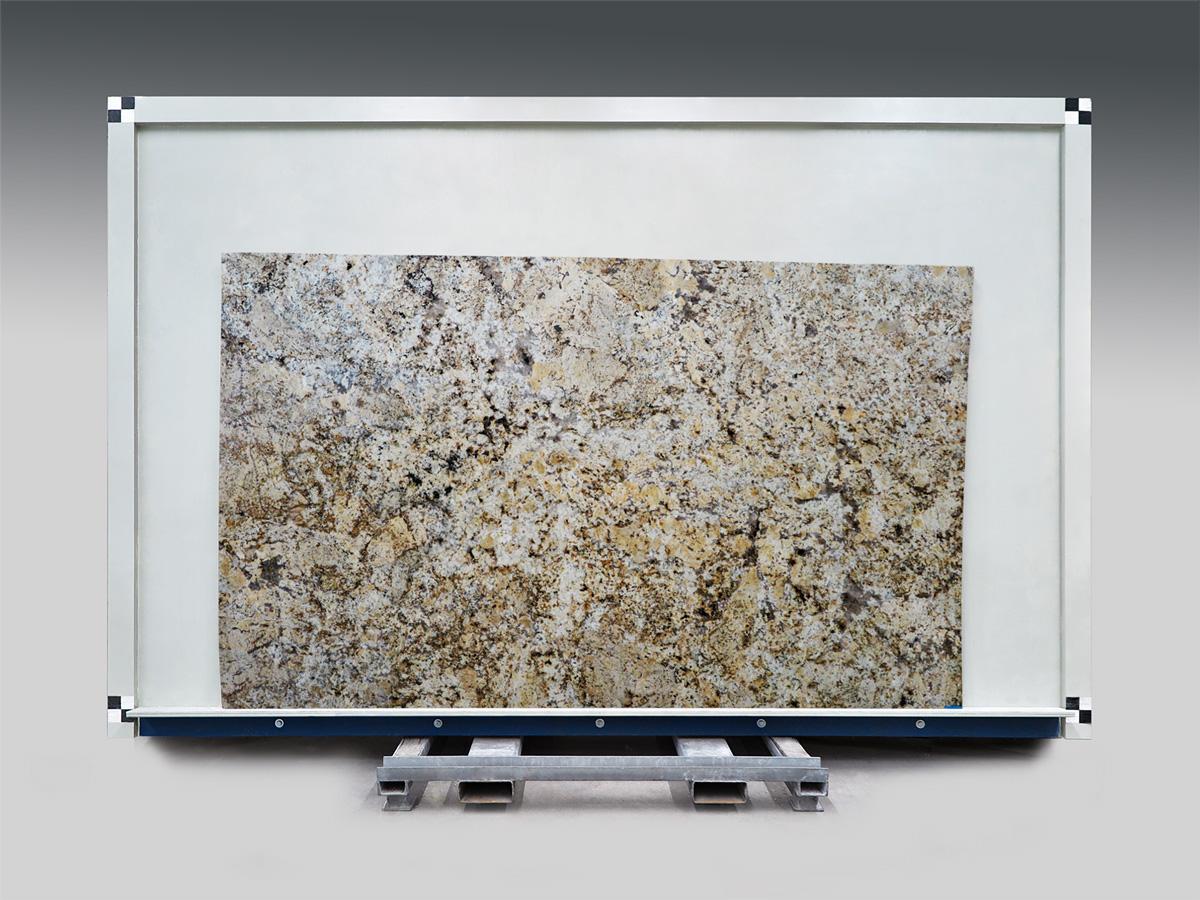 Golden Crema granite slab