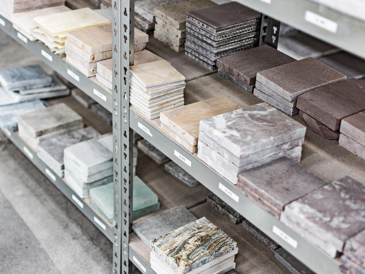 natural stone samples in stock