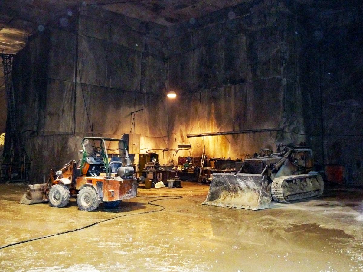 inside a quarry
